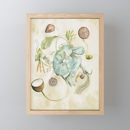 Homo Sapiens Plantae Future Human Framed Mini Art Print