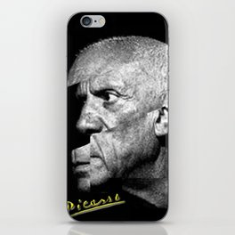 Pablo Picasso Cubism Collage iPhone Skin