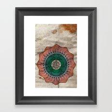 Spirography Framed Art Print