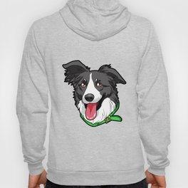 Border Collie Elo Dog Puppy Doggie Hoody