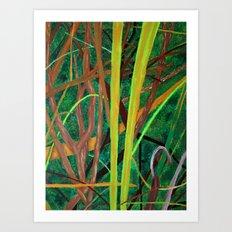 Linear Nature Art Print