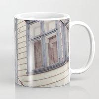 norway Mugs featuring Norway II by Cynthia del Rio