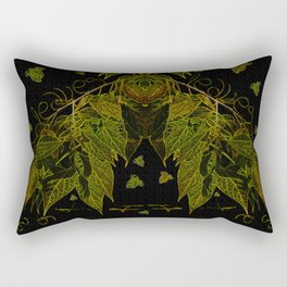 Leaves V1 Rectangular Pillow