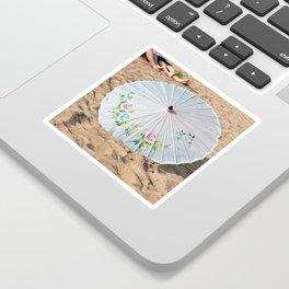 Pretty Parasol Sticker