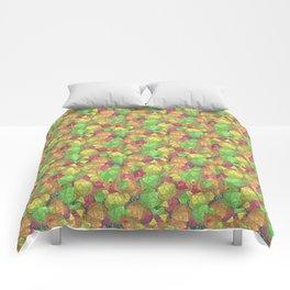 Refreshing Fruit Toss Comforters
