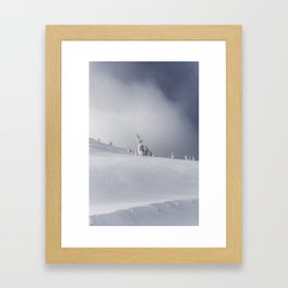 Near the Summit Framed Art Print