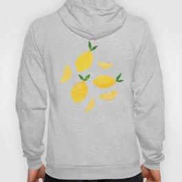 Lemon Cut Out Pattern Hoody