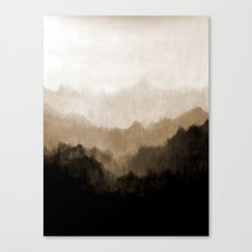Old Mountain Canvas Print