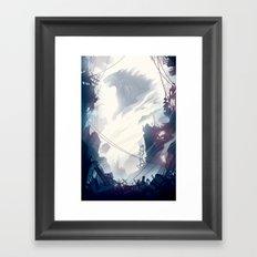 Little Moth. Framed Art Print
