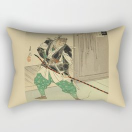 A Man with a Bow mand Arrow Soldier Rectangular Pillow