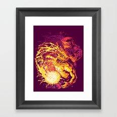 ACID DUNK Framed Art Print