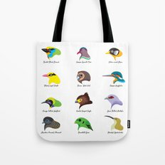 Montane Birds Series 2 Tote Bag