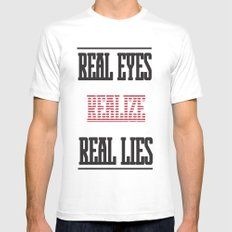 Realize Mens Fitted Tee White MEDIUM