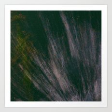 Puddle Spash  Art Print