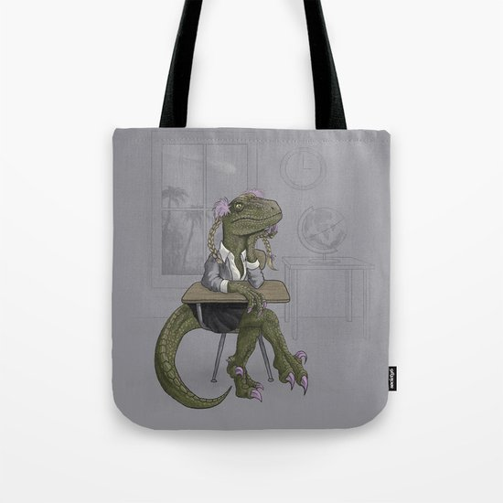 Clever Gurl Tote Bag