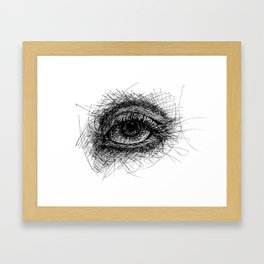 Eyeline Framed Art Print