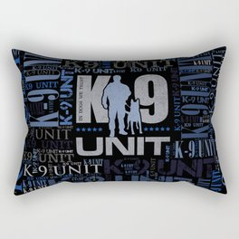 K-9 Unit  -Police Dog Unit Rectangular Pillow