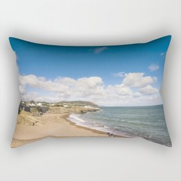 Irish sunny beach Rectangular Pillow