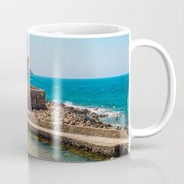 The Methoni Venetian Fortress in the Peloponnese, Messenia, Greece Coffee Mug