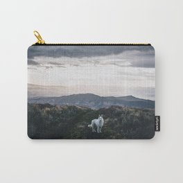 Wolf Golden Paradise (Color) Carry-All Pouch