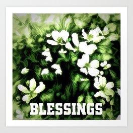 Blessings Art Print