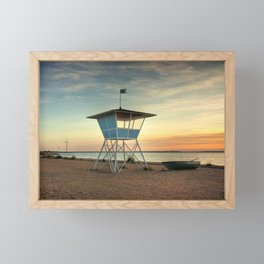 Finnish Baywatch Framed Mini Art Print
