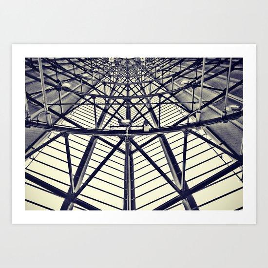 Many Shapes Art Print