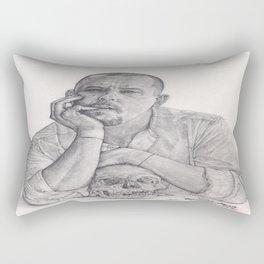 Alexander McQueen Savage Beauty Drawing Rectangular Pillow