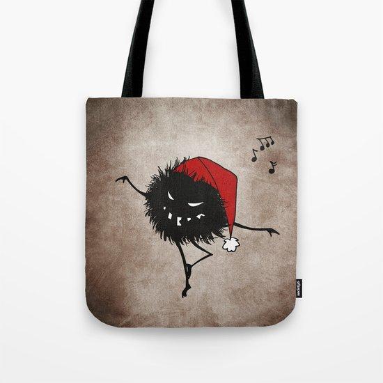 Dark Evil Christmas Bug Tote Bag