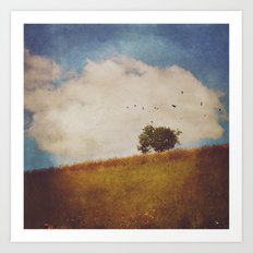 A Beautiful Afternoon Art Print