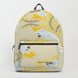 Natural Cockatoo Backpack