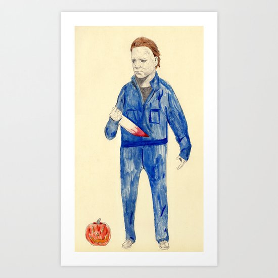 Michael Myers Art Print