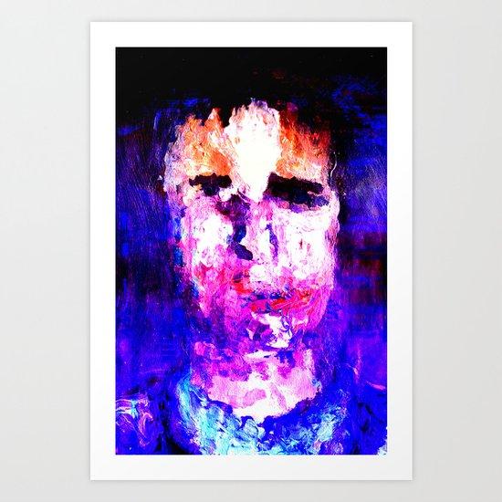 Joe B Art Print