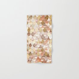 MERMAID GOLD Hand & Bath Towel