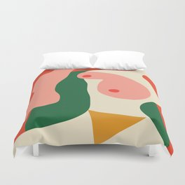 abstract nude 2 Duvet Cover
