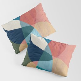 Waterfall and forest Pillow Sham