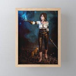 Dungeon Hunter Framed Mini Art Print