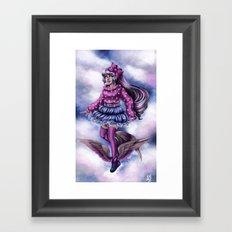 Walking on Air Framed Art Print