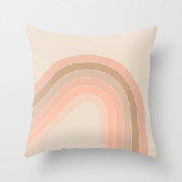 Soft Light Corner Bow Throw Pillow