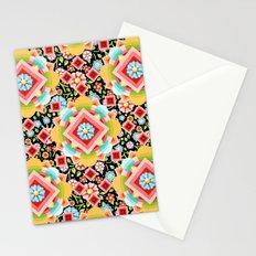 Geometric Chintz Mandala Stationery Cards