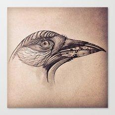 Steampunk BlackBird Canvas Print