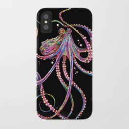 Reverse Drunk Octopus iPhone Case