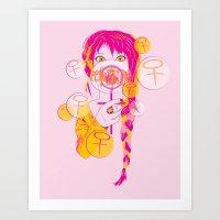 feminism Art Prints featuring Feminism by Something Quiet