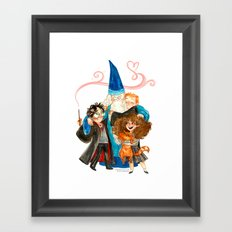Harry Potter Hug Framed Art Print
