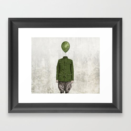 The Soldier - #3 Framed Art Print