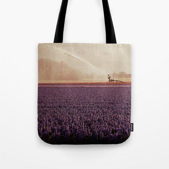 Hyacinth field #3 Tote Bag