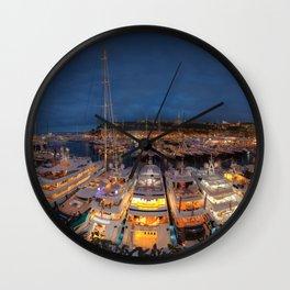 Port Panorama Wall Clock