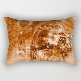 Rusty ghost wreck Rectangular Pillow