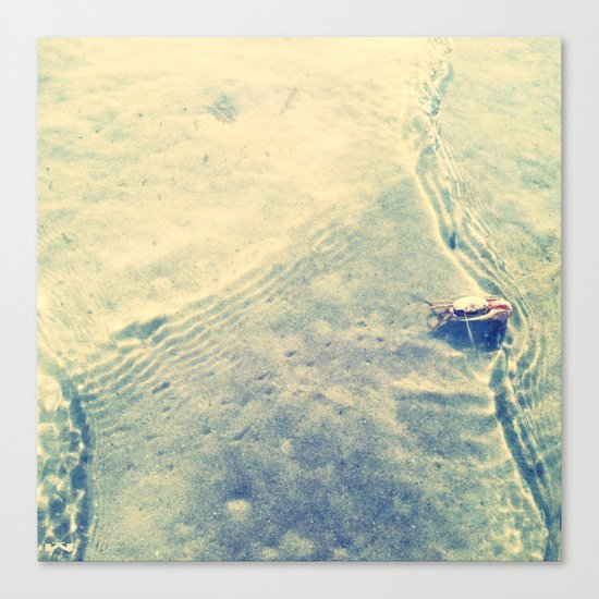 Rippling. Canvas Print