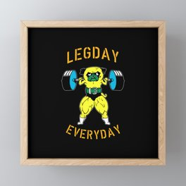 Legday Everyday Framed Mini Art Print